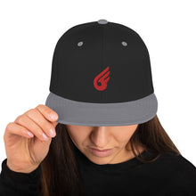 Load image into Gallery viewer, Swagmate Red Wing Snapback Hat