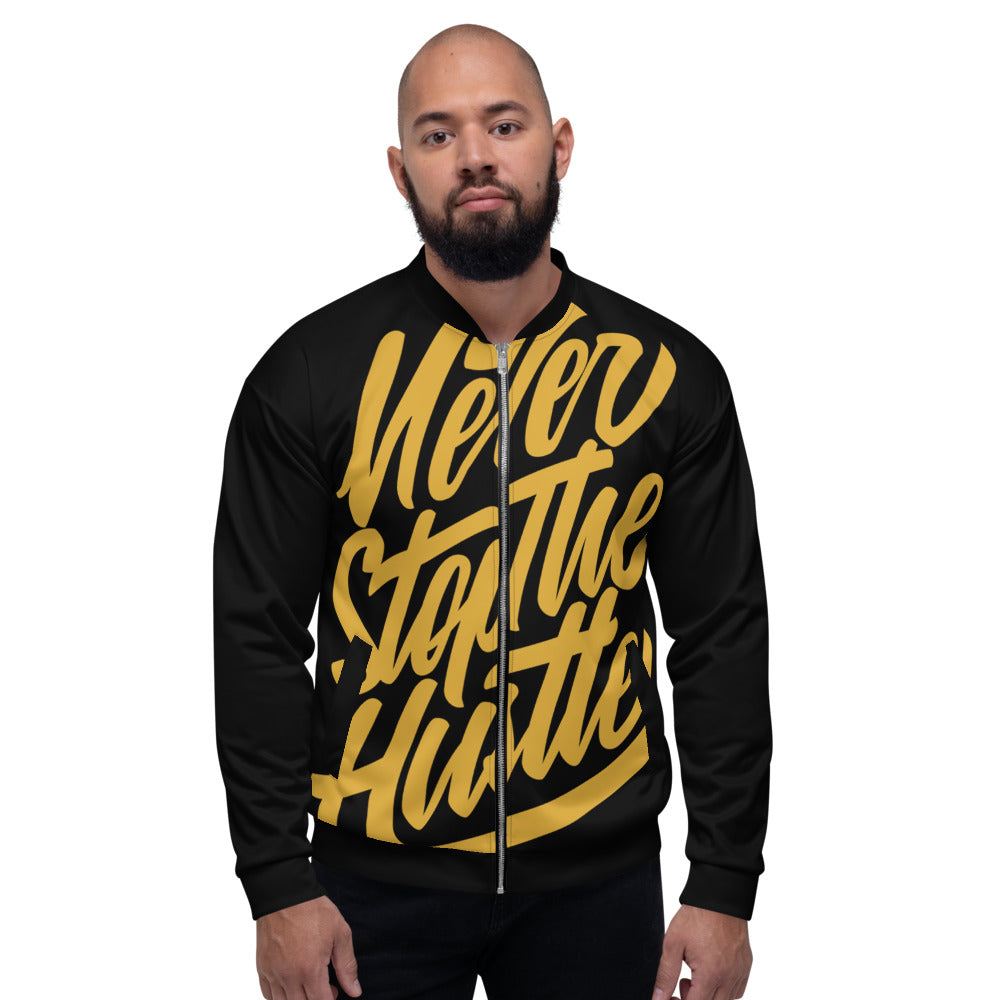 Swagmate Never Stop the Hustle Bomber Jacket