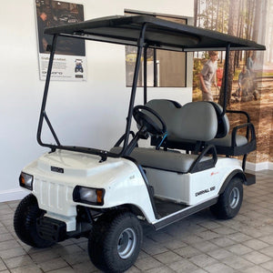 NEW 2019 CARRYALL 100 GAS WHITE 4PASS CANOPY TOP DELUXE LIGHTS