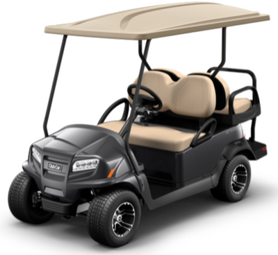 New 2021 Club Car Onward 4-Passenger Electric HP AC Drive Midnight Silver