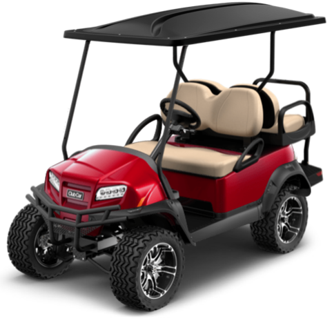 NEW 2021 Electric Lithium Ion Onward 4 Passenger Candy Apple Red Lights