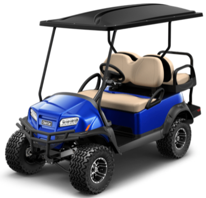 NEW 2021 Lithium Ion Battery Onward Pearl Blue Lifted 4 Passenger Lights