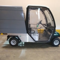 Certified Pre-Owned Electric 2013 Club Car Turf 2 Cab 2019 Batteries