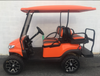 Certified Pre- Owned  2016 Electric Club Car Precedent Phoenix Body Orange 4 Passenger