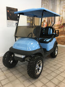 CERTIFIED PRE-OWNED 2016 ELECTRIC PRECEDENT SKY BLUE LIFTED 4 PASSENGER