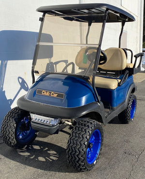 CERTIFIED PRE-OWNED 2016 ELE PREC BLUE 4PASS LIGHTS 2019 BATTERIES LIFTED CUSTOM WHEELS