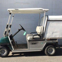 Certified Pre-Owned 2013 Club Car Carryall 1 Electric Green with Van Box
