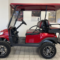 Certified Pre- Owned  2017 Gas Club Car Precedent Phoenix Body Ruby Red 4 Passenger