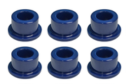 Club Car (OEM) Blue Urethane Bushing, DS & CA for Delta A Plate (Set of 6)