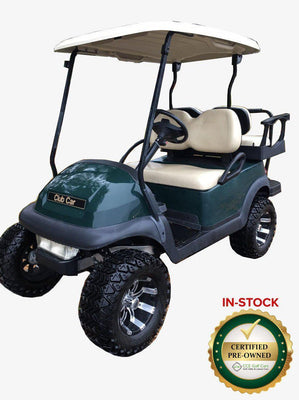 Certified Pre-Owned  Electric 2011 Club Car 4-Passenger Precedent  Lifted with 2017 Batteries