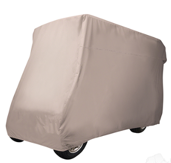 Storage Cover, Nylon, 88 IN Top w/ 4-Passenger Rear Seat, Tan