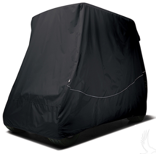 Storage Cover, Nylon, 54 - 61 IN Top, 2-Passenger, Black