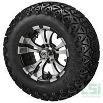 Jakes 6 Inch Precedent Lift Kit & 12 inch Wheels/23 inch Tire Combo Option 2