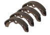 Club Car OEM Brake Shoes, Self Adjusting (Rear) - 4 Pack