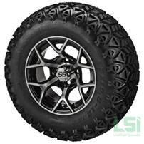 Jakes 6 Inch Precedent Lift Kit & 12 inch Wheels/23 inch Tire Combo Option 4