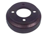 Club Car OEM, Brake Drum (Rear) w/ Center Hole, Manual Adjusting, G&E, 1981 & Up