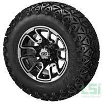 Jakes 6 Inch Precedent Lift Kit & 12 inch Wheels/23 inch Tire Combo Option 5