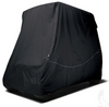 Storage Cover, Nylon, With Rear Facing Seat Kit & 80 IN Top, Black, Heavy Duty