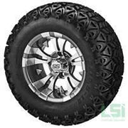 Jakes 6 Inch Precedent Lift Kit & 12 inch Wheels/23 inch Tire Combo Option 7