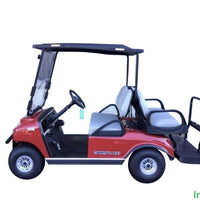NEW 2019 CARRYALL 100 ELECTRIC RED CANOPY TOP DELUXE LIGHTS