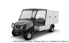 New 2020 Club Car Carryall 700 Facilities Engineering Van Electric Base Model