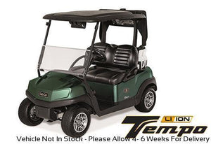 NEW 2020 Club Car Tempo Lithium Ion AC Drive 2-Passenger BASE MODEL