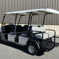 New 2020 Gas Transporter White 6 Passenger Canopy Top
