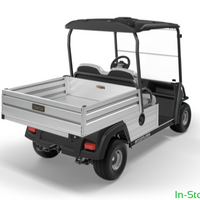 New 2019 DEMO Green Carryall 502 Electric with Canopy Top & SWS