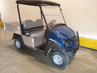 Certified Pre-Owned Electric 2015 Club Car Carryall Blue 2017 Battery