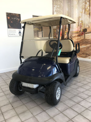 Certified Pre-Owned 2017 Club Car Electric Precedent Sapphire 4 Passenger Lights 2019 Battery