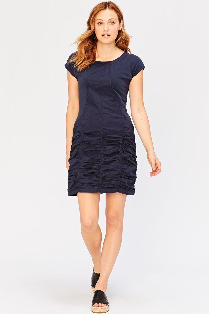 XCVI Aviana Dress in Hawser (navy)
