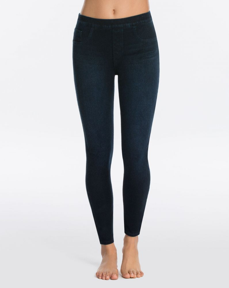 Spanx Jeanish Legging in Twilight Blue Rinse