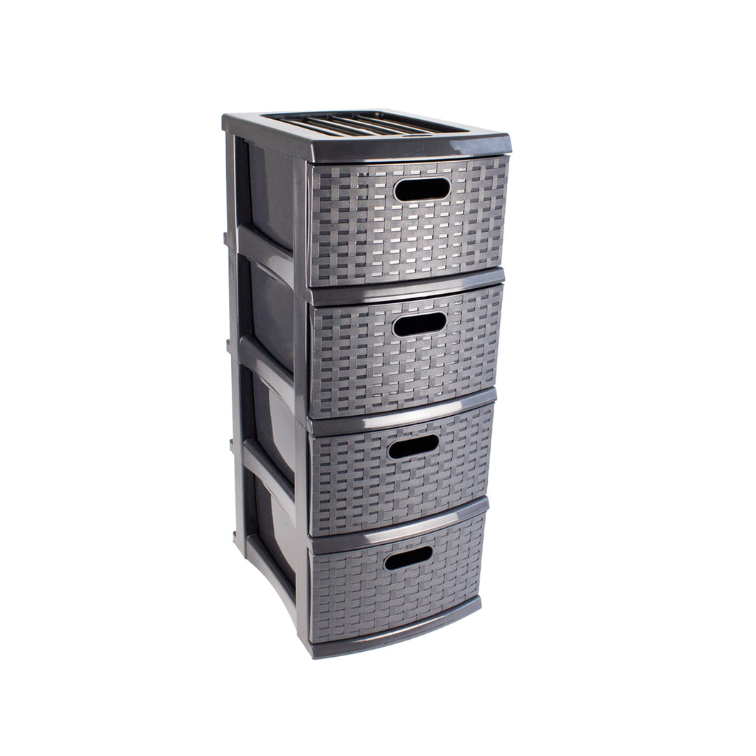 A3 Weave Drawer Storage 4 Drawer (PICKUP ONLY)