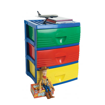 B2 Kids 3 Drawer - Product Trade - New Zealand Made