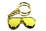 VE Aviator Keychain - 18KT Gold Plated