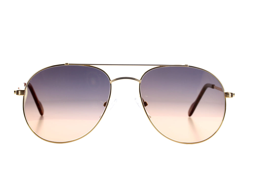 Vintage Eyewear Classic 10 Yellow Gold - 18 kt Gold Plated