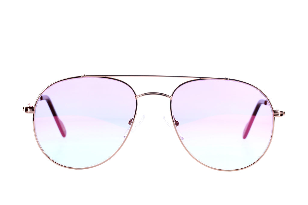 Vintage Eyewear Classic 10 Rose Gold - 18 kt Gold Plated