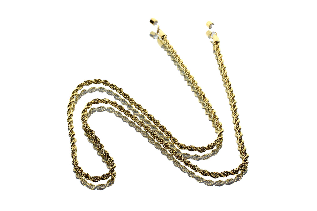 Rope Chain 18KT Gold Plated