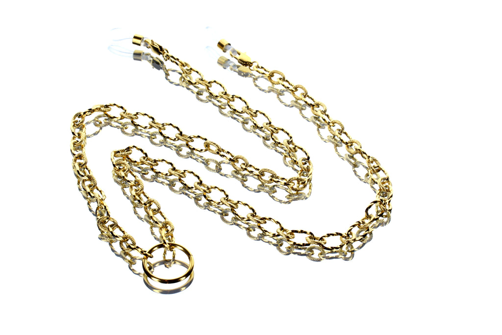 Twist Thread Chain 18KT Gold Plated
