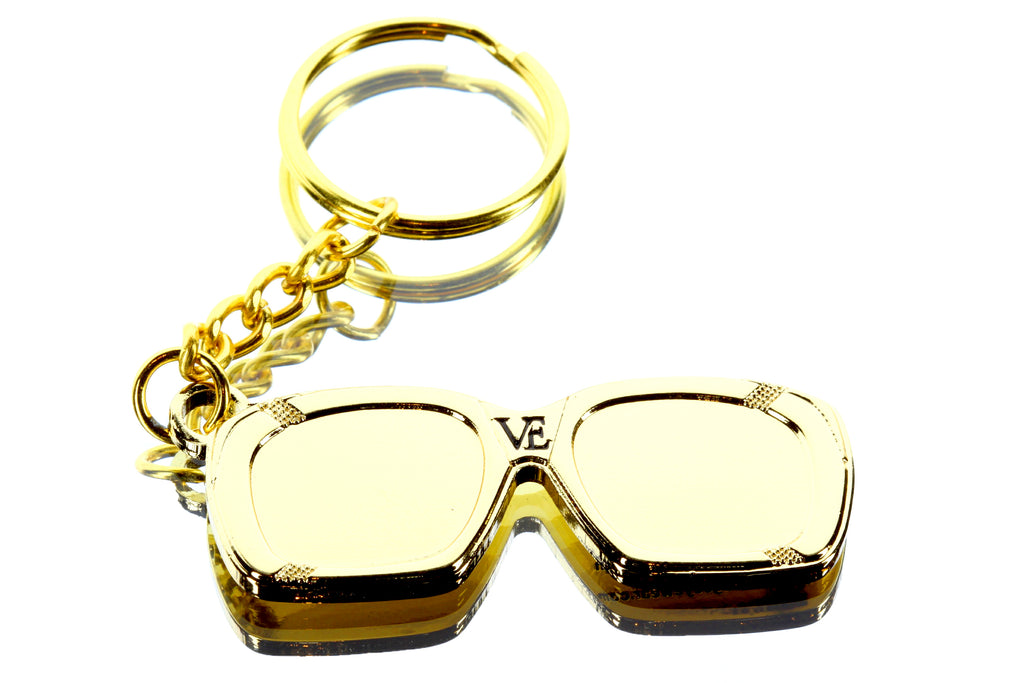 VE Keychain - 18KT Gold Plated