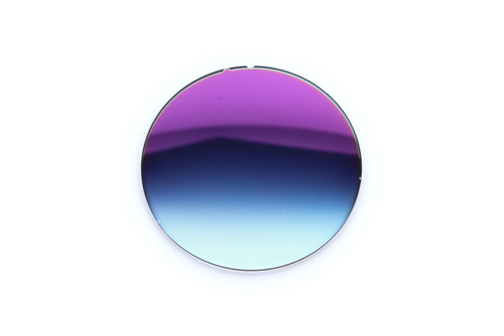 48 - Dark Blue Gradient, Purple Flash - Curve: 0