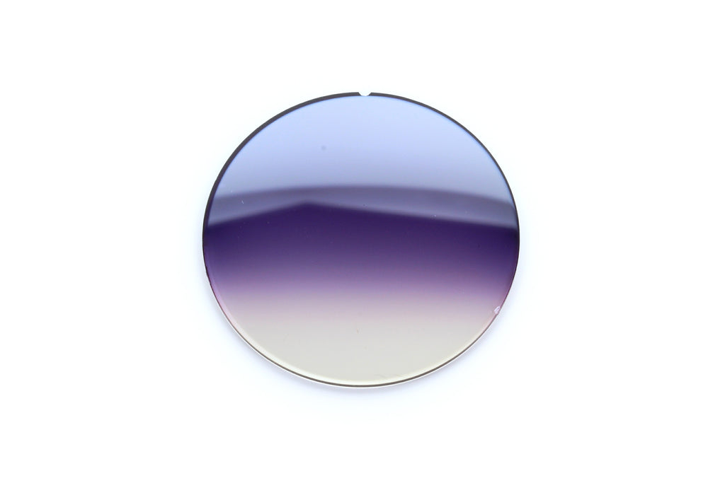 10.1 - Purple Iris Gradient, Silver Flash - Curve: 0