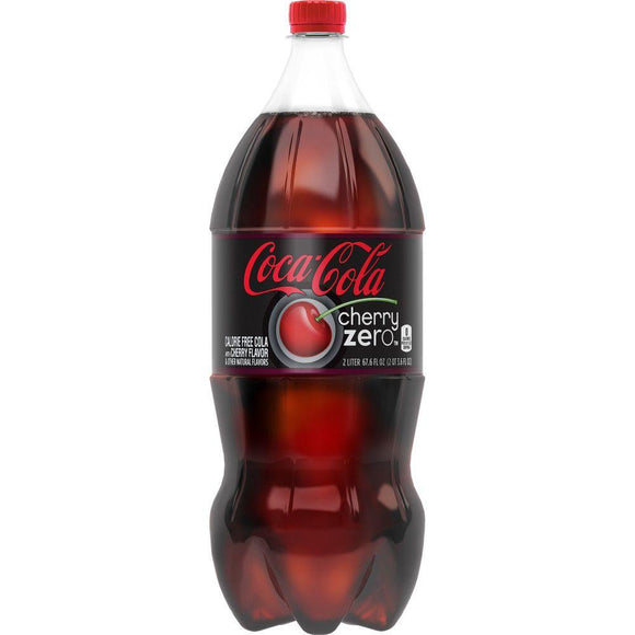 Coca Cola Zero Cherry 2 Liter - East Side Grocery