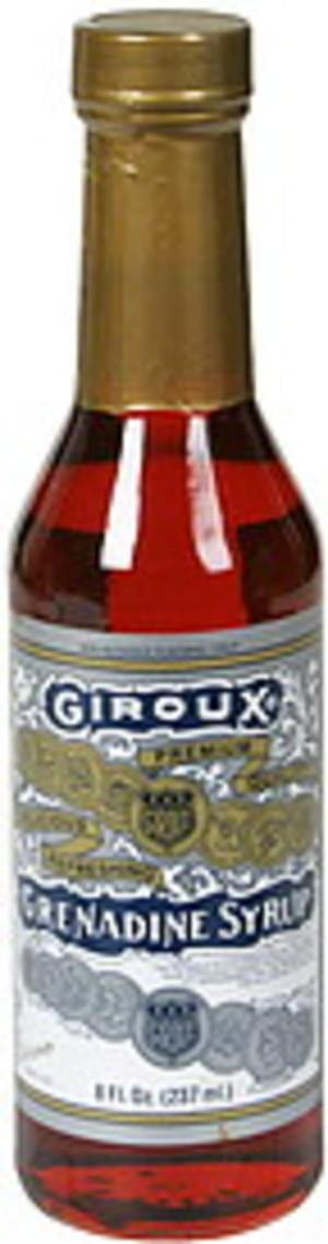 Giroux Grenadine Syrup - 8 oz. - East Side Grocery