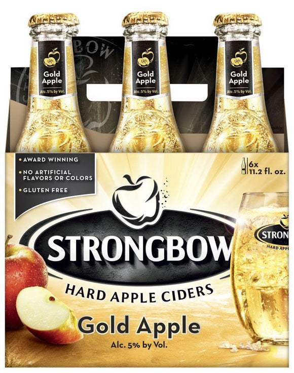 Strongbow Gold Apple Cider 12oz. Bottle - East Side Grocery