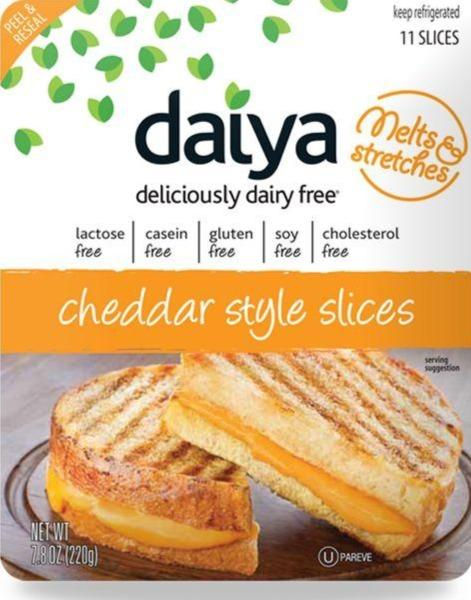 Daiya Vegan Cheddar Style Slice Cheese 7.8oz. - East Side Grocery