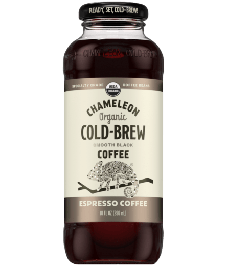Chameleon Organic Cold Brew Espresso Coffee - 10oz. - East Side Grocery