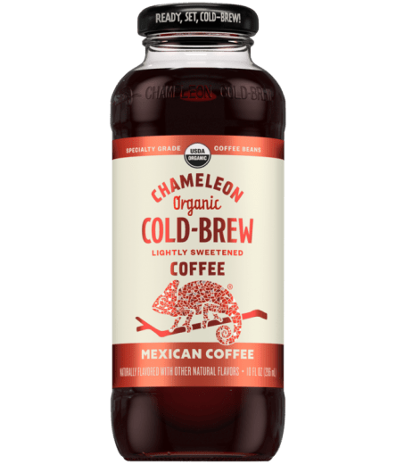 Chameleon Organic Cold Brew Mexican Coffee - 10oz. - East Side Grocery