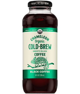 Chameleon Organic Cold Brew Black Coffee- 10oz. - East Side Grocery