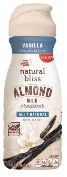 Coffeemate Natural Bliss Almond Milk Vanilla 16oz. - East Side Grocery